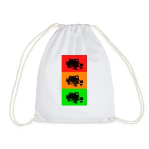 Retro Land-Rover - Drawstring Bag