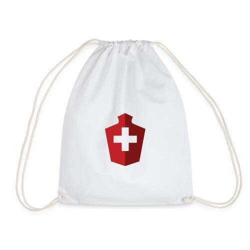 Schweizer Flagge - Schweiz - Turnbeutel