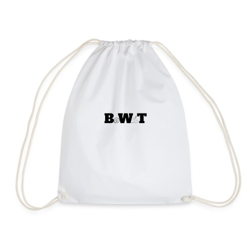 bwt logo 1 - Drawstring Bag
