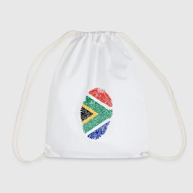 Fingerprint - South Africa - Drawstring Bag
