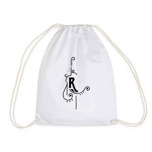Buchstabendesign R - Drawstring Bag