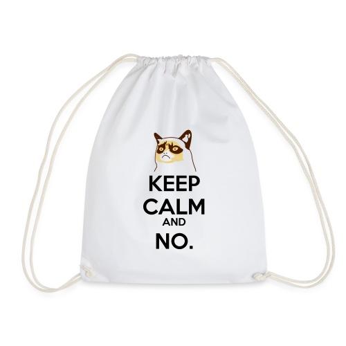 Grumpy Cat Keep Calm - Sacca sportiva