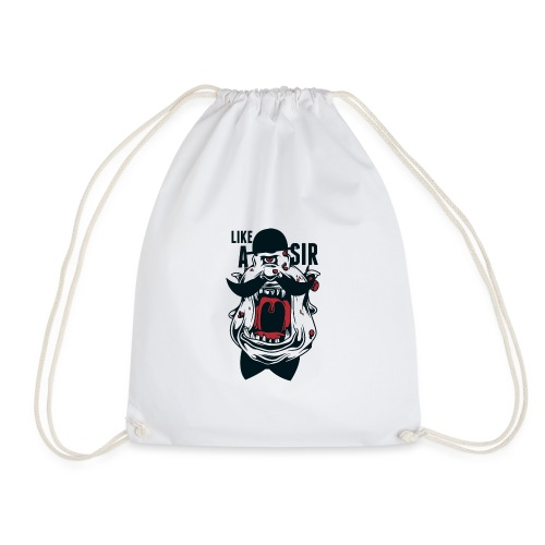 Like A Sir - Drawstring Bag