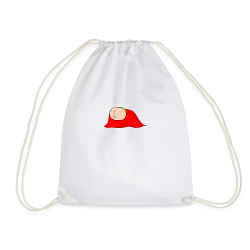 Flying Bum (diagonal) - without text - Drawstring Bag