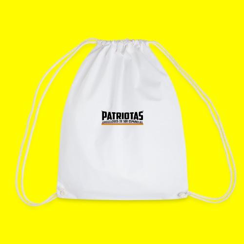 Patriotas españoles logo - Mochila saco
