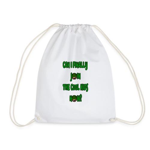 Cool Kids White T-Shirt - Drawstring Bag