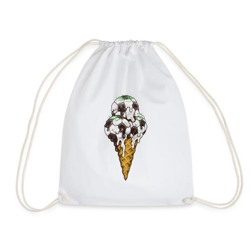 Ice Cream Soccer Balls - Drawstring Bag
