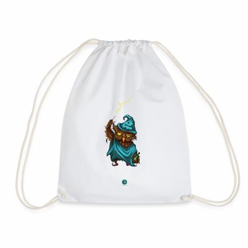 Drunken Owl - Drawstring Bag