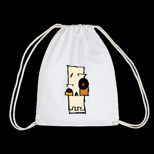 Skull - Drawstring Bag