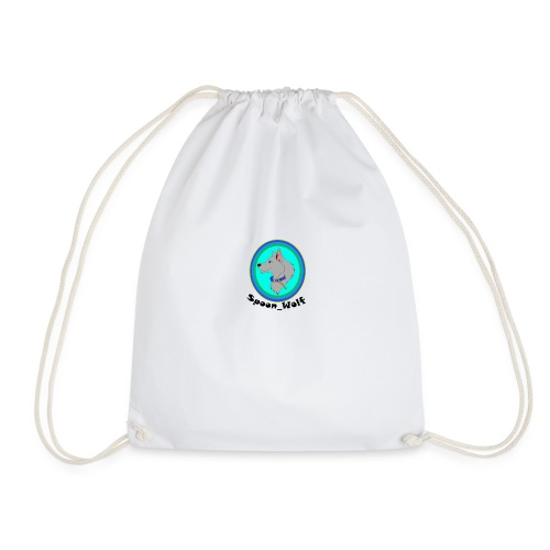 Spoon_Wolf_2-png - Drawstring Bag