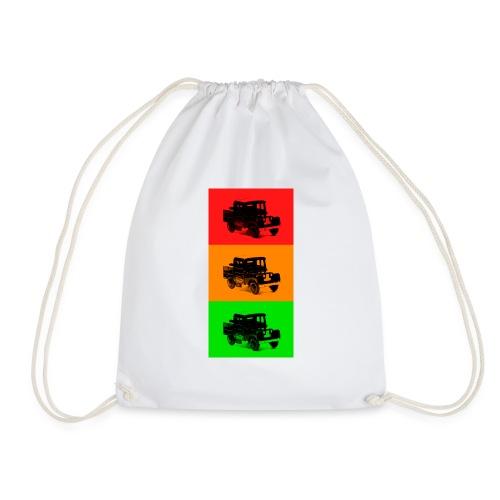 Retro Land-Rover - Drawstring Bag