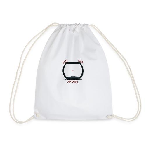 Red Dot Apparel png - Drawstring Bag