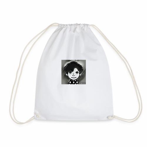 cool animated me - Drawstring Bag