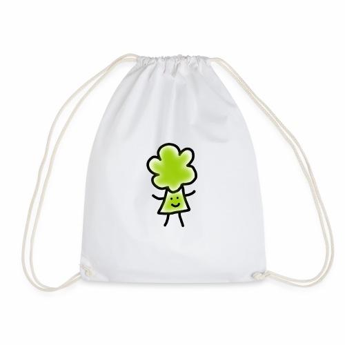 Brocoli Sketch - Drawstring Bag