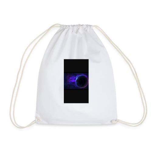 galaxy moon t-shirt - Drawstring Bag