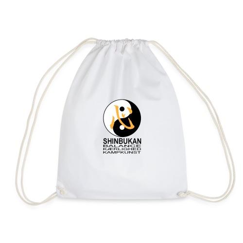 Shinbukan Tai Chi symbol og tegnet Kokoro - Sportstaske