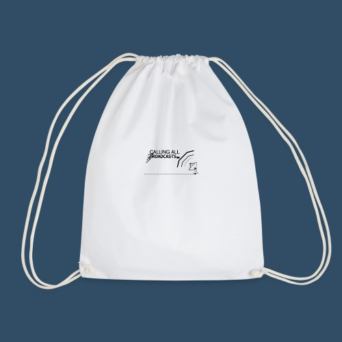 Calling All Broadcasts Invert - Drawstring Bag