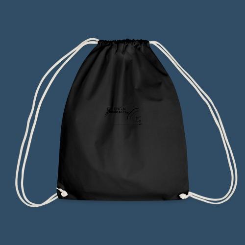 Calling All Broadcasts Invert - Drawstring Bag
