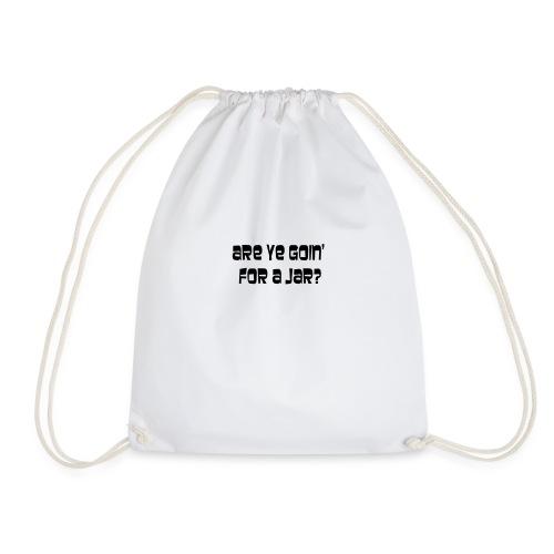 going for a jar - Drawstring Bag