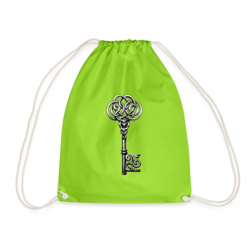CHAVE-celtic-key-png - Mochila saco