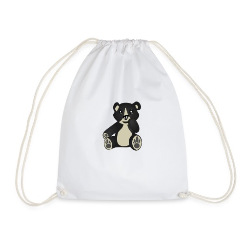 Baby Bear Kind Cartoon - Turnbeutel