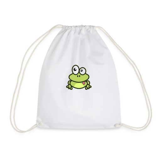 Frog Tshirt - Drawstring Bag