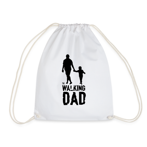 The Walking Dad - Drawstring Bag