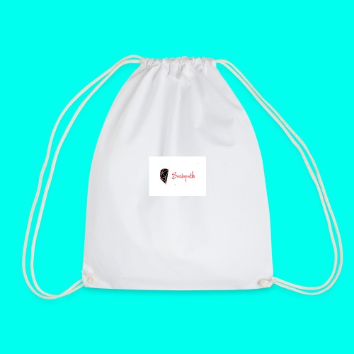 sociopath - Drawstring Bag