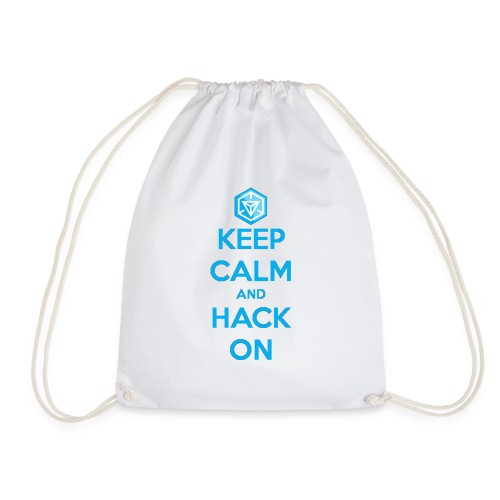keep calm and hack on - Sacca sportiva