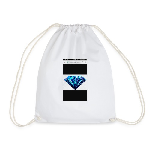 Black diomand - Drawstring Bag