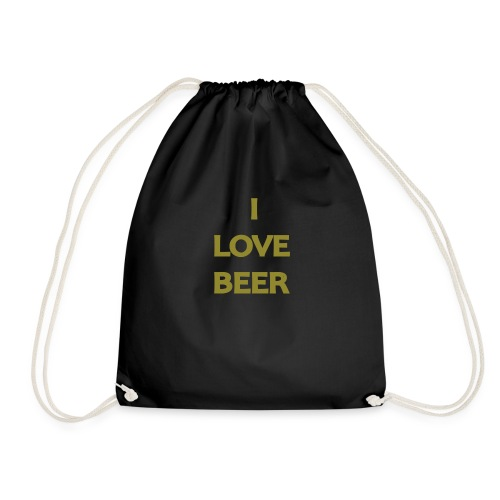 I LOVE BEER - Sacca sportiva