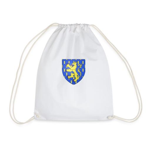 Blason de la Franche-Comté avec fond transparent - Sac de sport léger