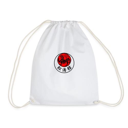 shotokan rising sun - Drawstring Bag