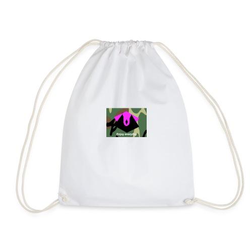 ENJOY EVERYDAY CAMO LIMITED EDITION! - Drawstring Bag