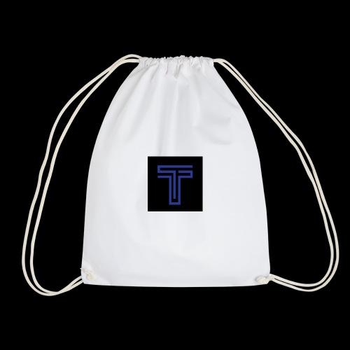 YT logo design - Drawstring Bag