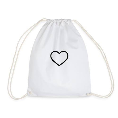cute little heart - Drawstring Bag