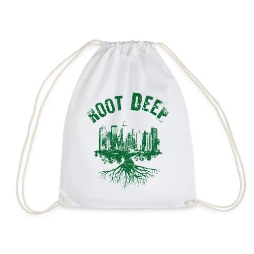 Root deep Urban grün - Turnbeutel