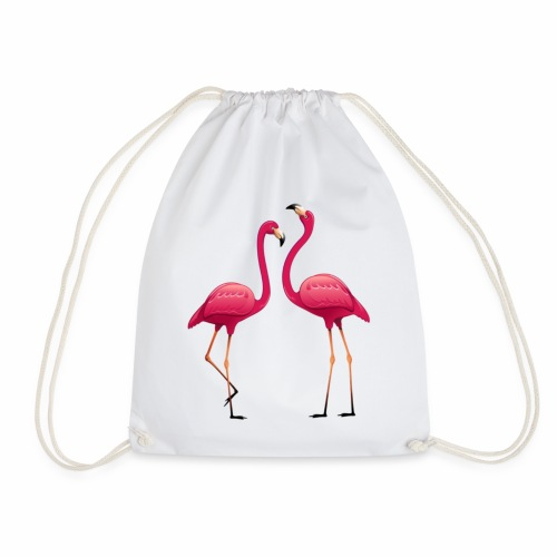 collection double flamant rose - Sac de sport léger
