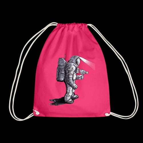 Lost Astronaut - Drawstring Bag