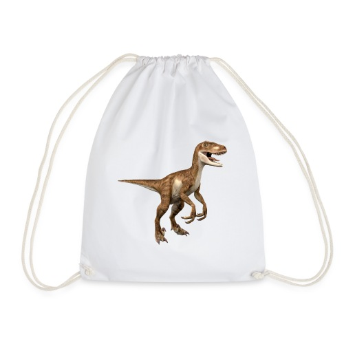Raptor Dinosaur - Drawstring Bag