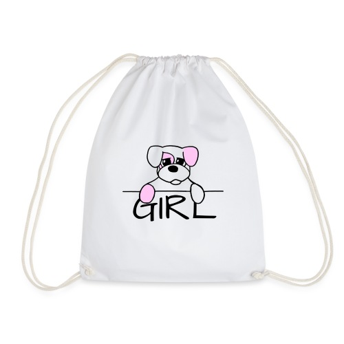 Hondje Girl - Gymtas