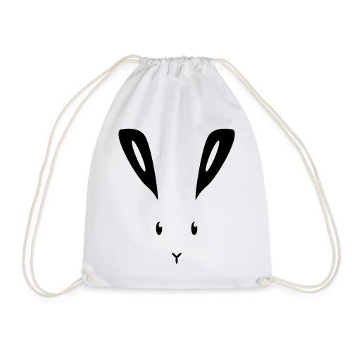 Hase Kaninchen Häschen Osterhase Feldhase bunny - Turnbeutel