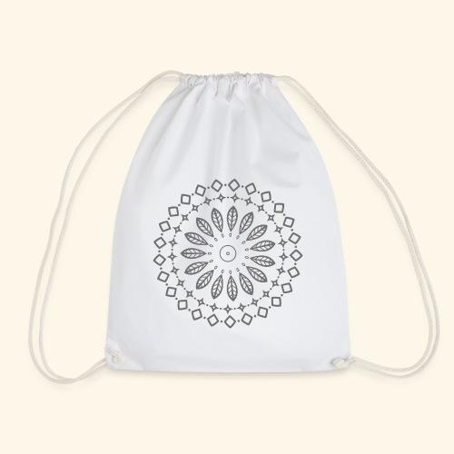 Mandala, Glück, Harmonie - Turnbeutel