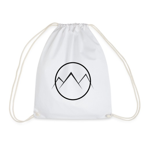 World of Mountains - Drawstring Bag