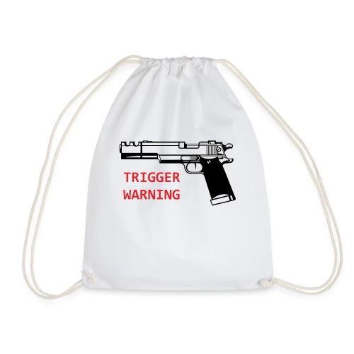 Anti-Snowflake Trigger Warning Collection - Drawstring Bag