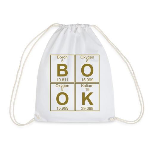 B-O-O-K (book) - Full - Drawstring Bag