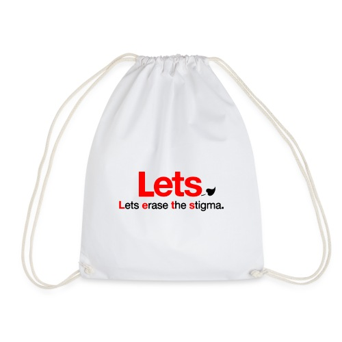 End The Stigma Merch - Drawstring Bag