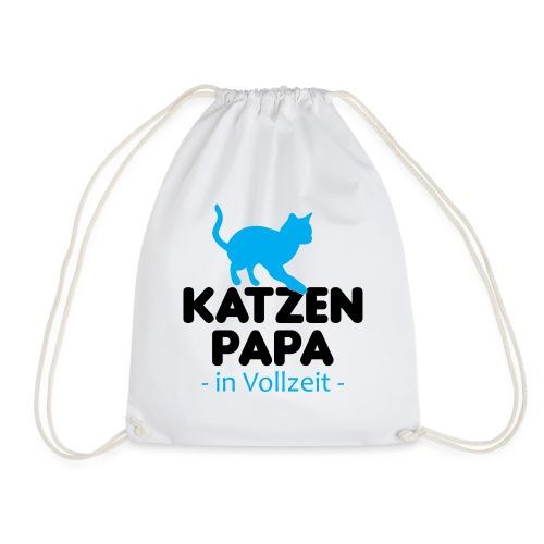Katze Mann Geschenk Papa Vollzeit Katzenliebhaber - Turnbeutel