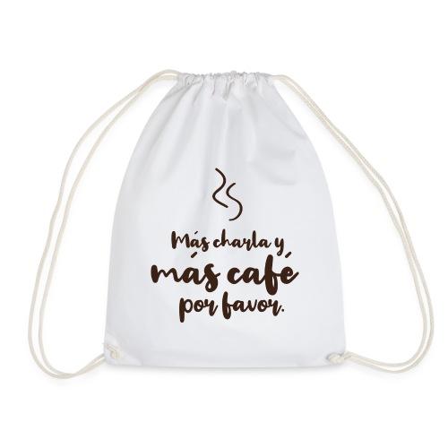 Más café. - Mochila saco