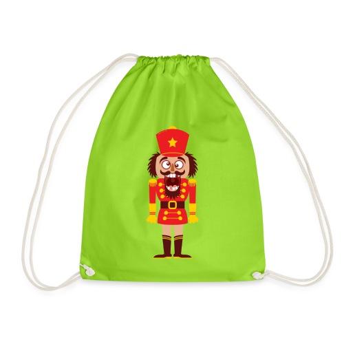 A Christmas nutcracker is a tooth cracker - Drawstring Bag